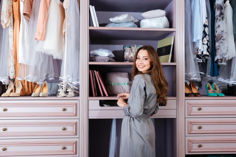 tips om je kledingkast te doen slinken